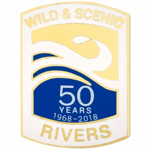 Wild & Scenic Rivers Pin