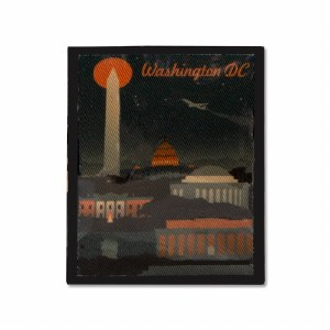 Retro Washington D.C. Patch