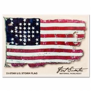 Fort Sumter National Storm Flag Magnet