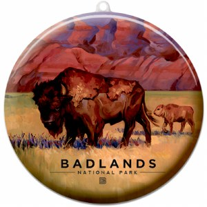 Badlands Suncatcher Ornament