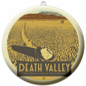 Death Valley Suncatcher Ornament