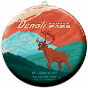 Denali Suncatcher Ornament