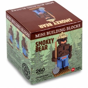 Smokey Bear Mini Block Set