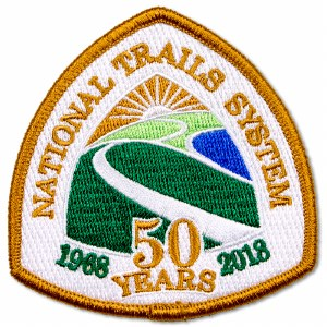 National Trails Anniversary Patch