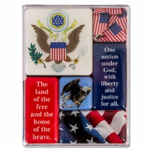 Mini Magnet Set America