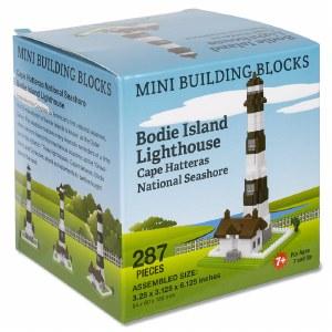 Bodie Island Lighthouse Mini Blocks