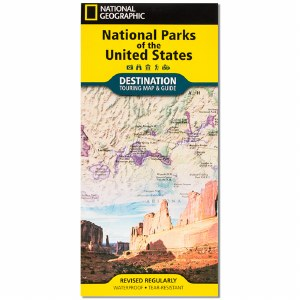 National Parks of America Map