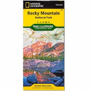 Rocky Mountain NP Folded Map