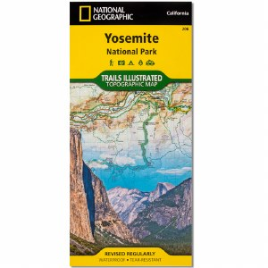 Yosemite National Park Trails Illustrated Topographic Map