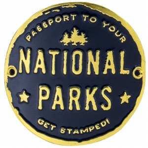 Passport To Your National Parks® Hiking Medallion