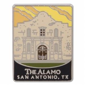 Traveler Series The Alamo Pin