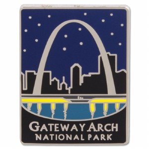 Traveler Series Gateway Arch Pin