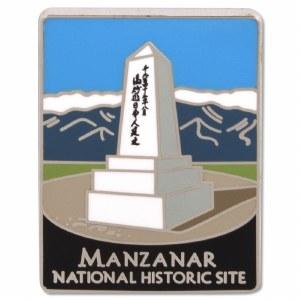 Traveler's Series Manzanar Pin