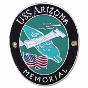 Traveler Series USS Arizona Hiking Medallion
