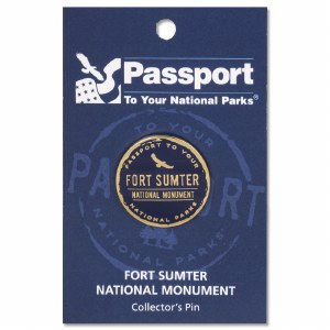 Fort Sumter Passport Pin