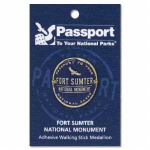 Fort Sumter Passport Hiking Medallion