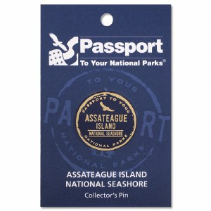 Assateague Island Passport Pin