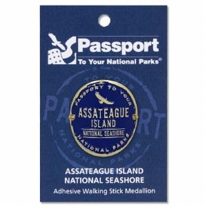 Assateague Passport Hiking Medallion