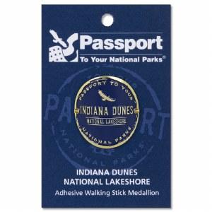Indiana Dunes Passport Hiking Medallion