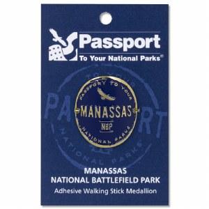 Manassas Passport Hiking Medallion