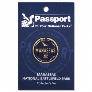 Manassas Passport Pin