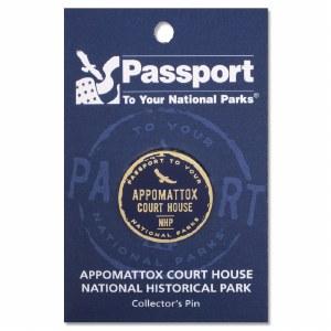 Appomattox Court House Passport Pin