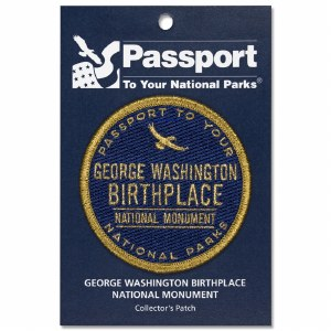 George Washington Birthplace Passport Patch