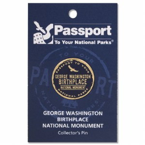 George Washington Birthplace Passport Pin