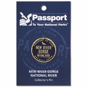 New River Gorge Passport Pin