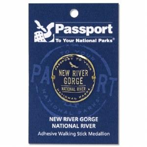 New River Gorge Passport Hiking Medallion
