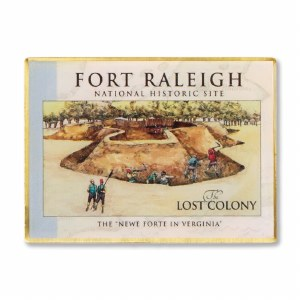 Fort Raleigh Lost Colony Magnet