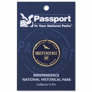 Independence Passport Pin