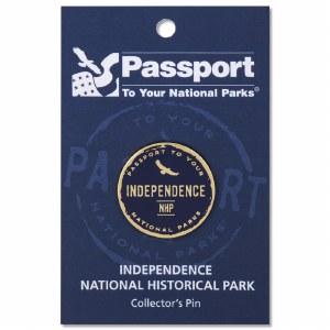 Independence Passport Pin