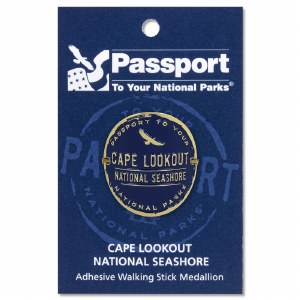 Cape Lookout Passport Hiking Medallion