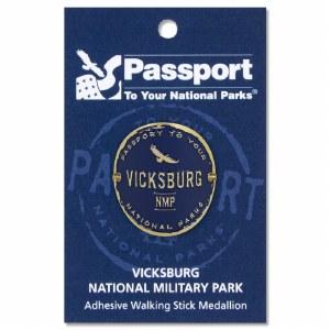 Vicksburg Passport Hiking Medallion