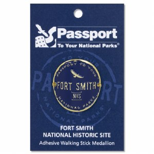 Fort Smith Passport Hiking Medallion