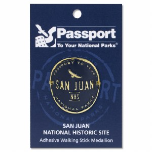 San Juan Passport Hiking Medallion