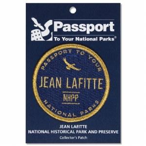 Jean Lafitte Passport Patch