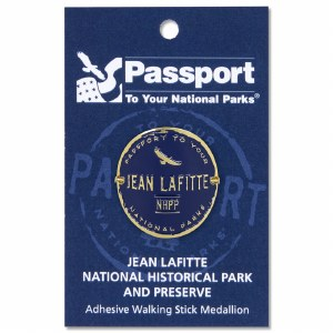 Jean Lafitte Passport Hiking Medallion