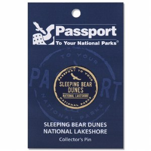 Sleeping Bear Dunes Passport Pin