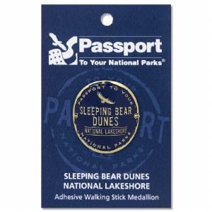 Sleeping Bear Passport Hiking Medallion