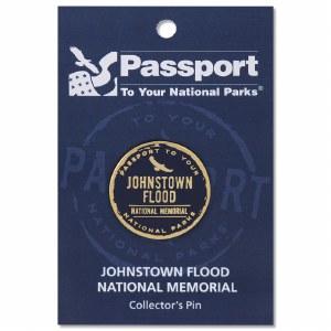 Johnstown Flood Passport Pin