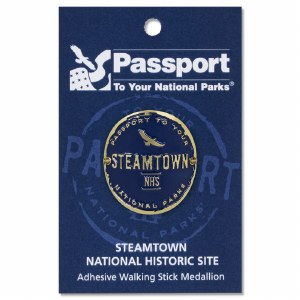 Steamtown Passport Hiking Medallion