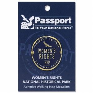 Women's Rights Passport Hiking Medallion