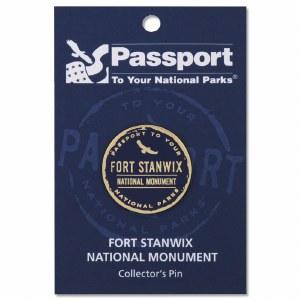 Fort Stanwix passport Pin