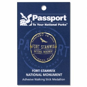 Fort Stanwix Passport Hiking medallion
