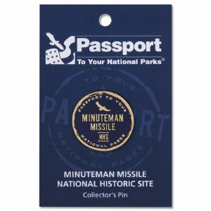 Minute Man Missile Passport Pin