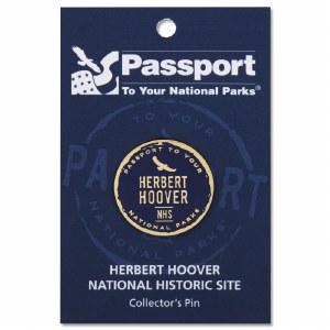 Herbert Hoover Passport Pin