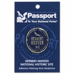 Herbert Hoover Passport Hiking Medallion