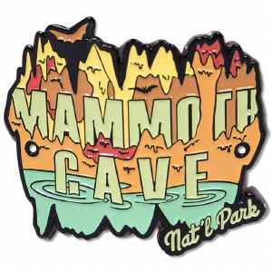 Mammoth Cave Hiking Stick Medallion
